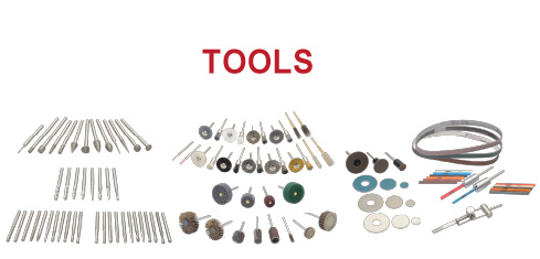 Grinder bits/specialized tools